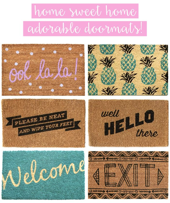 Austin Fashion Style Blog By Olivia Watson Door Mat Hippie