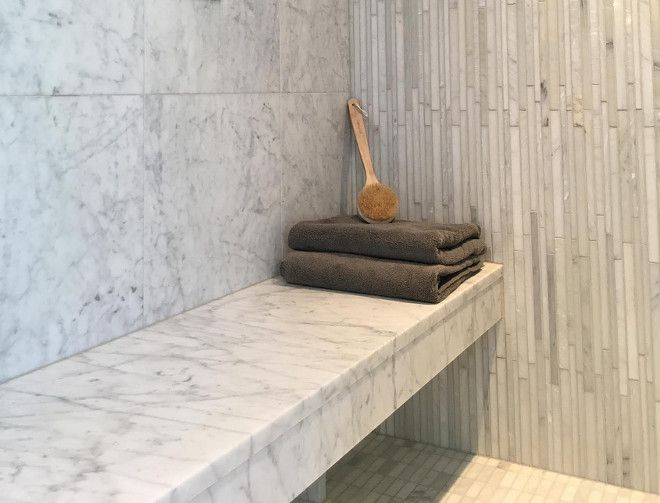 Shower Bench Marble Slab Shower Bench Shower Bench Seat Honed Carrara Marble Showerbench Marble Shower Tile Designs Subway Tile Shower Designs Marble Slab