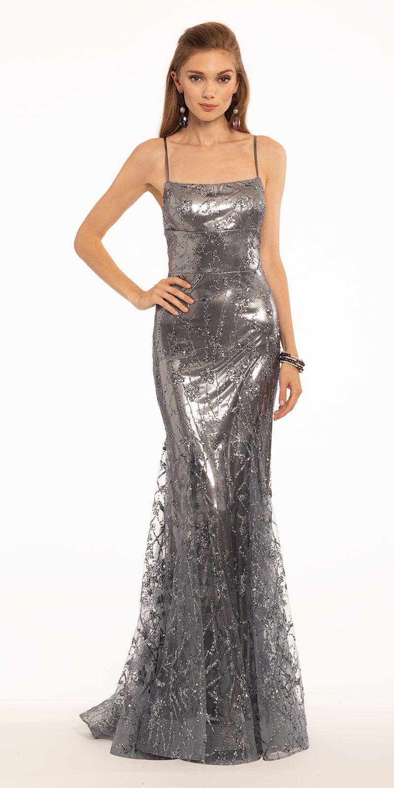 Glitter Mesh Foil Lace Up Back Dress Lace Up Back Dress Black Tie Wedding Guest Dress Dresses [ 1600 x 800 Pixel ]