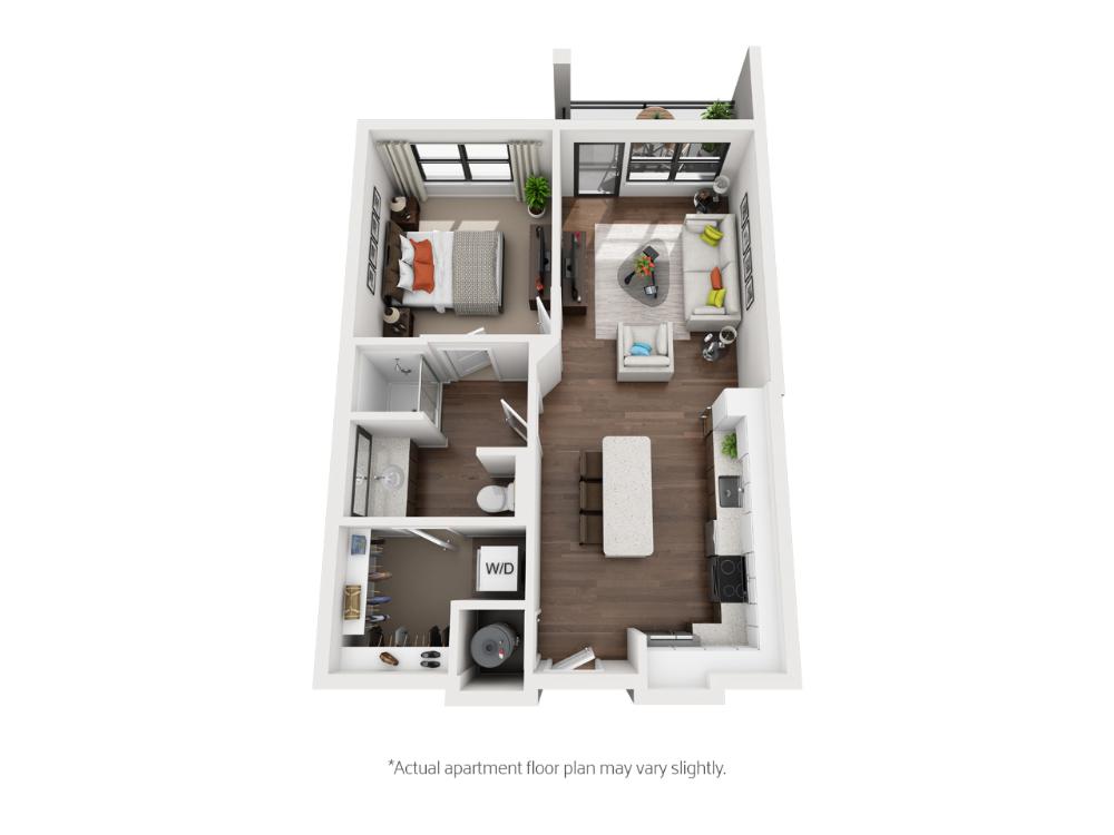 Helios One & Two Bedroom Apartments   Spacious Floor Plans ...