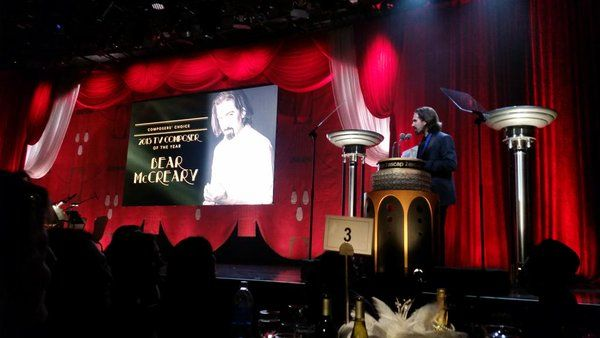 Also HUGE congratulations to @bearmccreary, TV composer of the year. Had my vote! Go table 4! :) #ASCAPScreen https://t.co/CK3ijV1njn