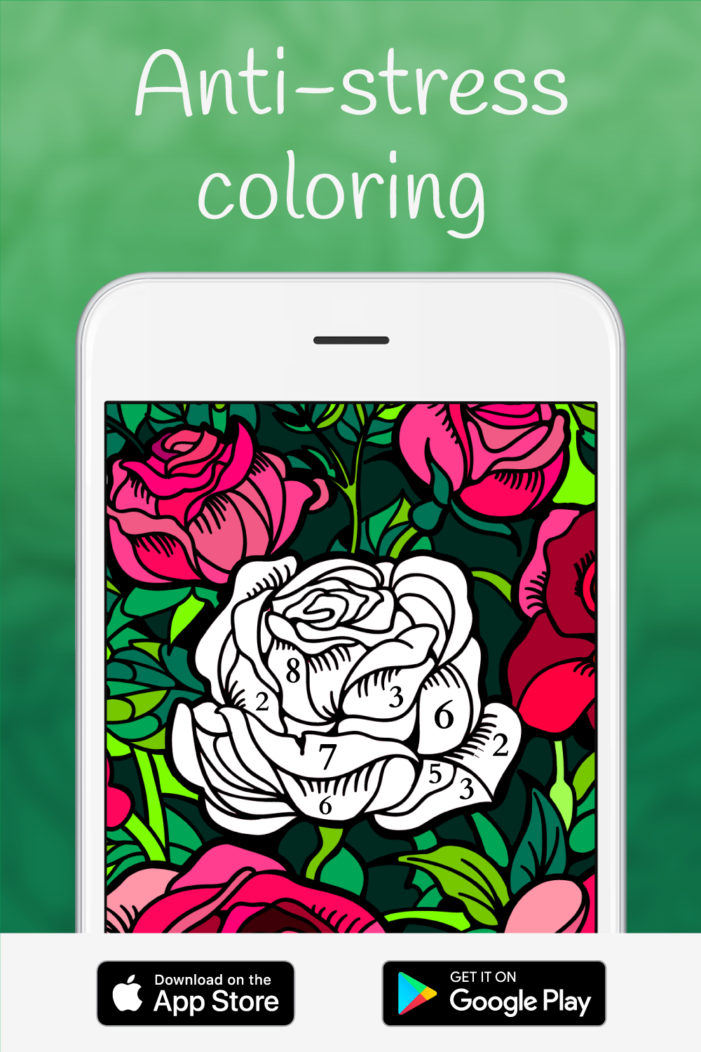 Happy Color - Color by number | Happy colors, Stressed art ...