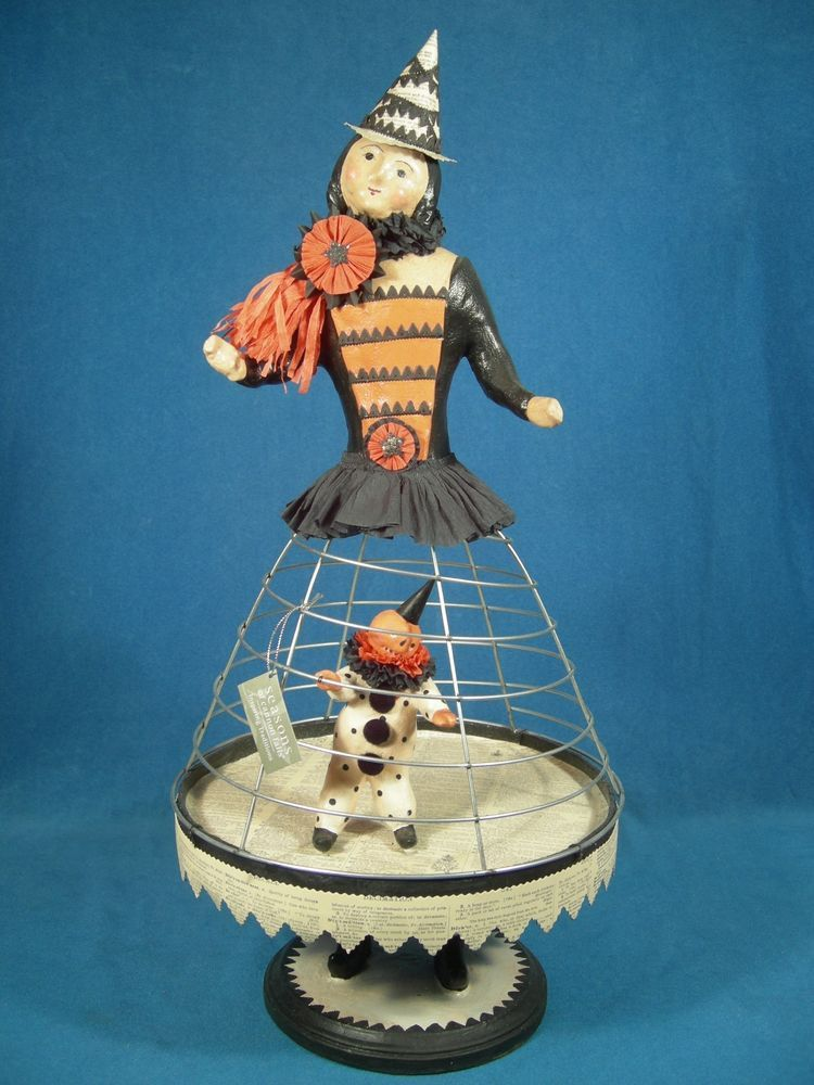 Nicol Sayre Halloween Witch Cage Doll, Retired, Seasons of Cannon Falls, 21.5""