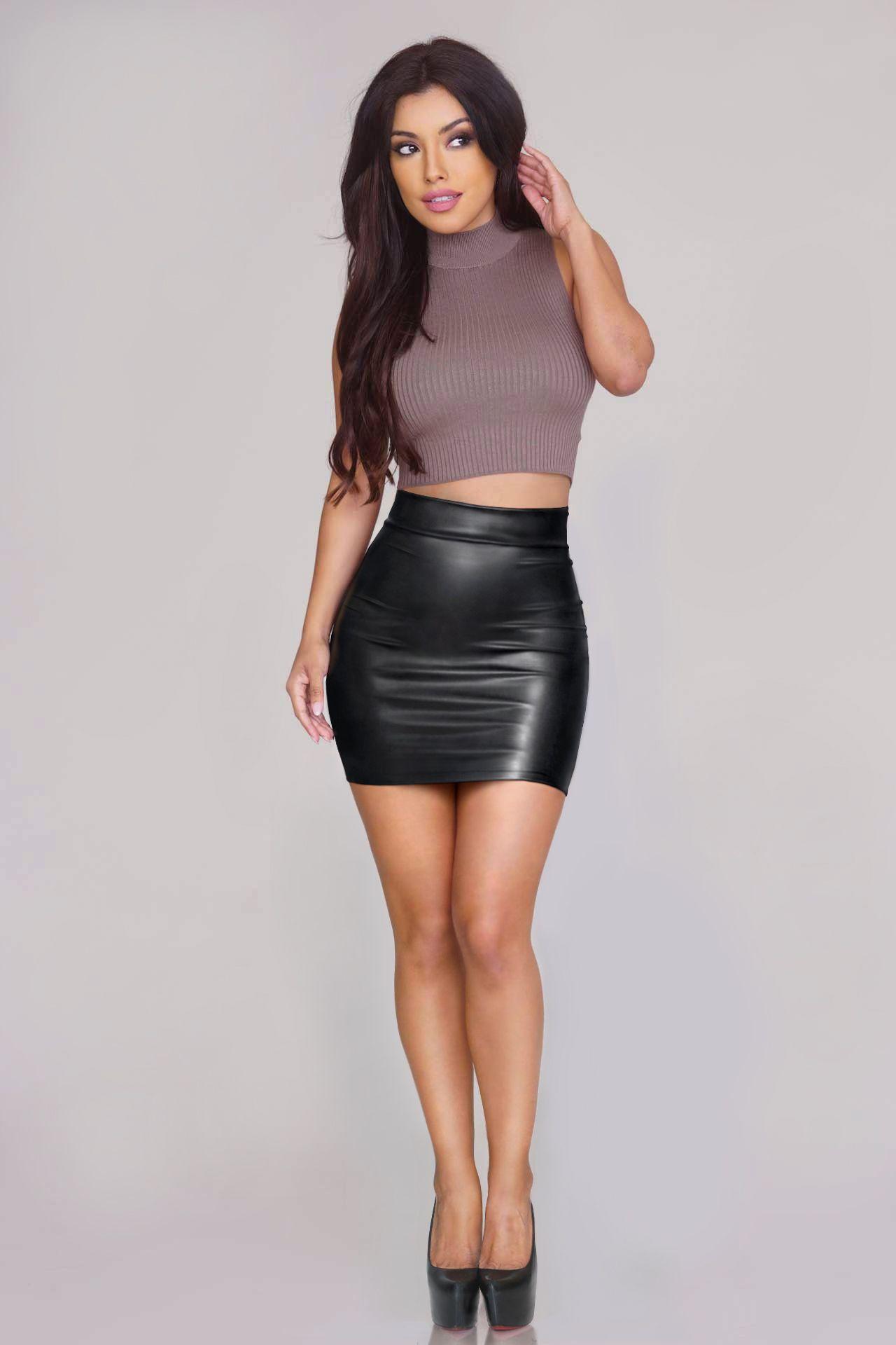 Rubik S Skirts Amp Dresses Photo Leather Pinterest