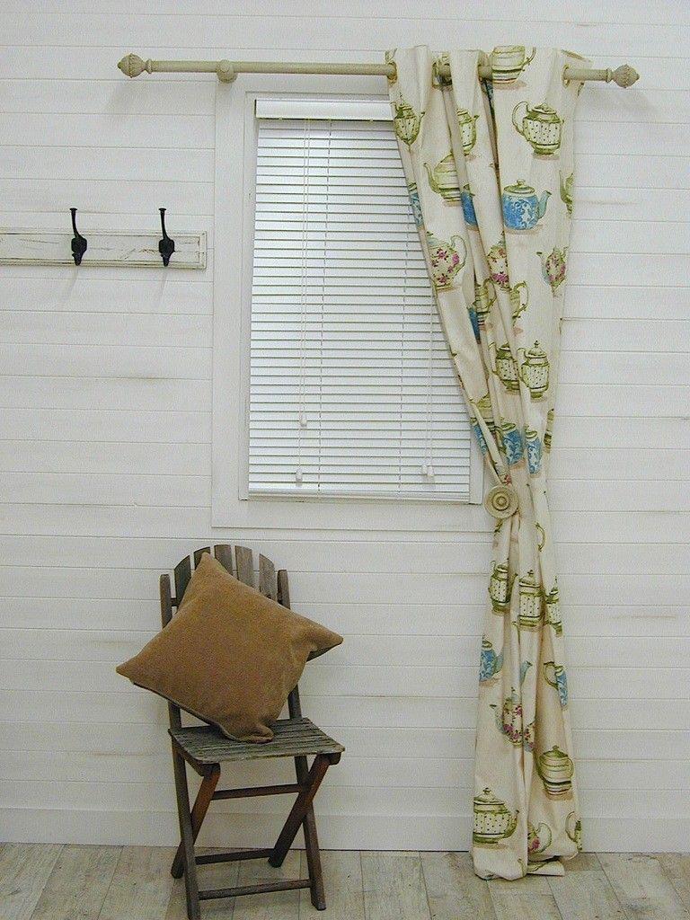 teapots - kitchin roman blinds?