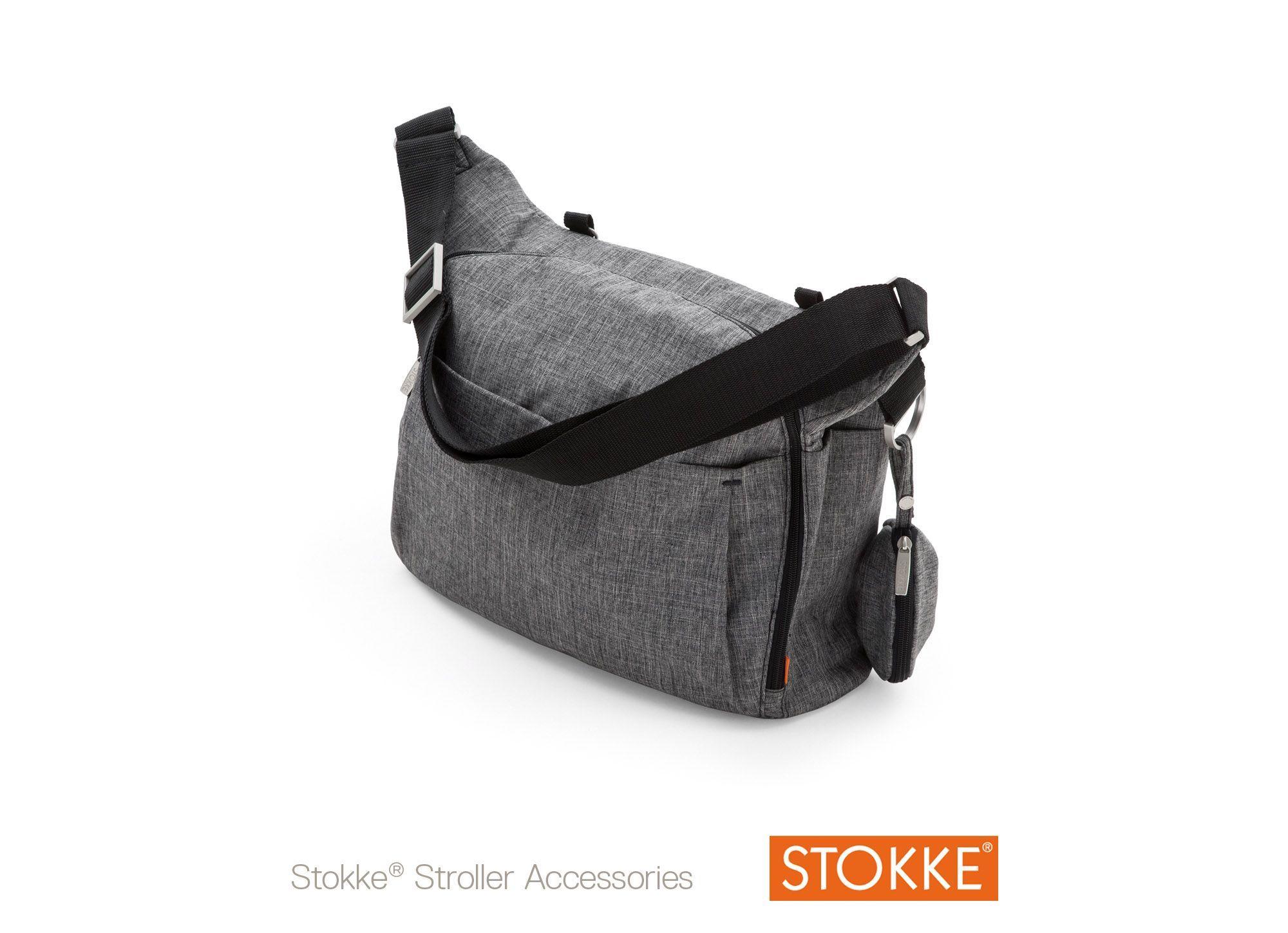 Stokke® Xplory Changing Bag- Black Melange | Bags ...