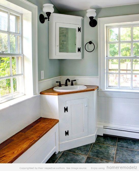 Image Gallery Website corner vanity Bathroom Corner Bathroom Vanity Rustic Modern Bathroom Vanities