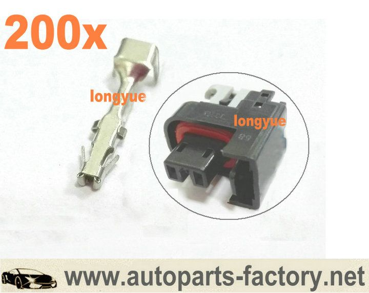 long yue GM Terminals For MFP mini Fuel Injector Connector
