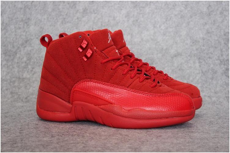 Nike Air Jordan XII 12 Red Men Shoes