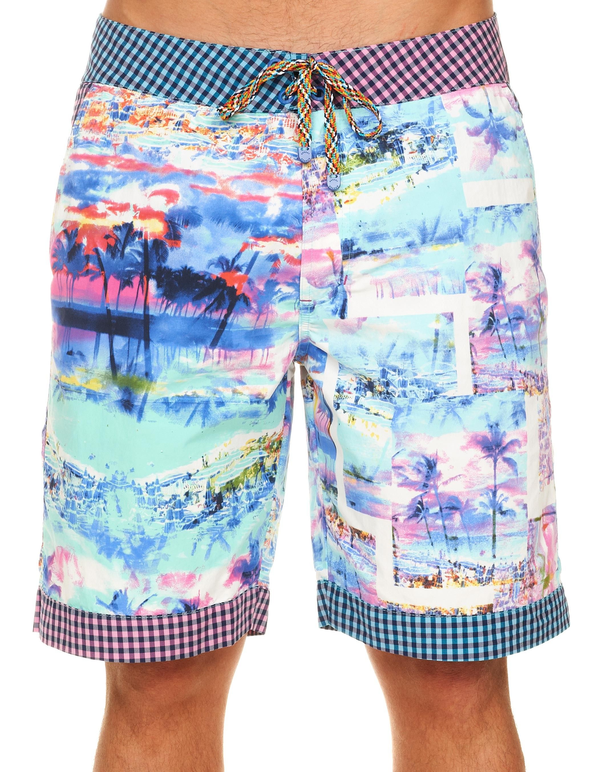 c3c376178f Oh my -Marty needs these for Hangout Music Fest! Swim Trunks for Men:  Geryon Long Board Shorts for Men
