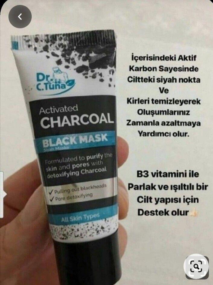 Aktif Karbon Siyah Maske 2020 Cilt Urunleri Cilt Ipuclari