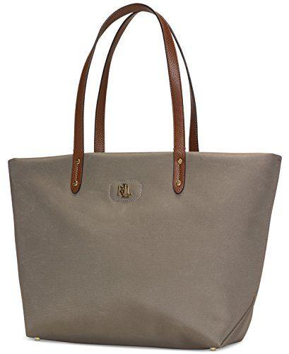26a72d0c045c Lauren Ralph Lauren Womens Bainbridge Tote Bag (New Khaki)