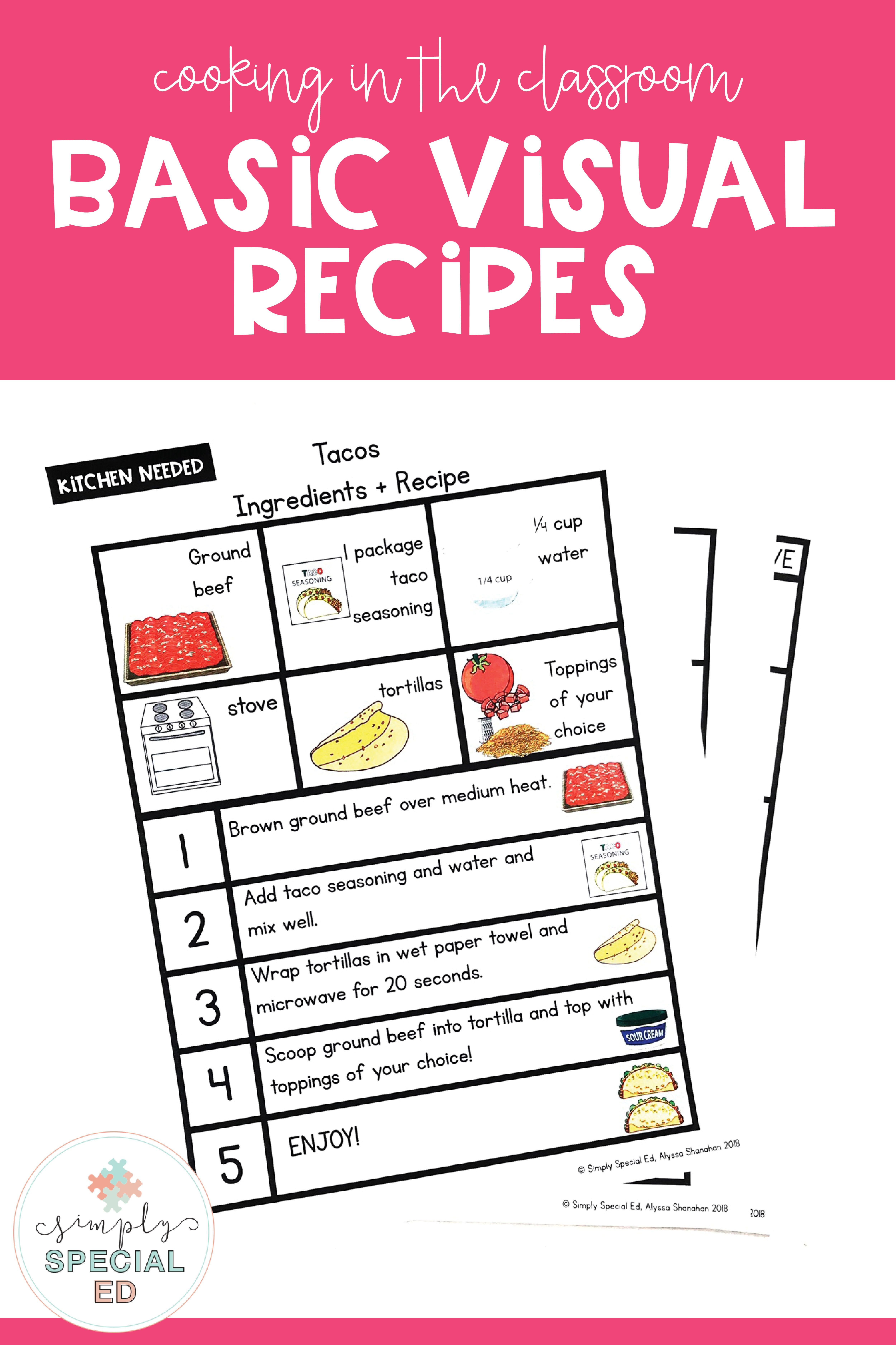 Simply Visual Recipes Basic Cooking In