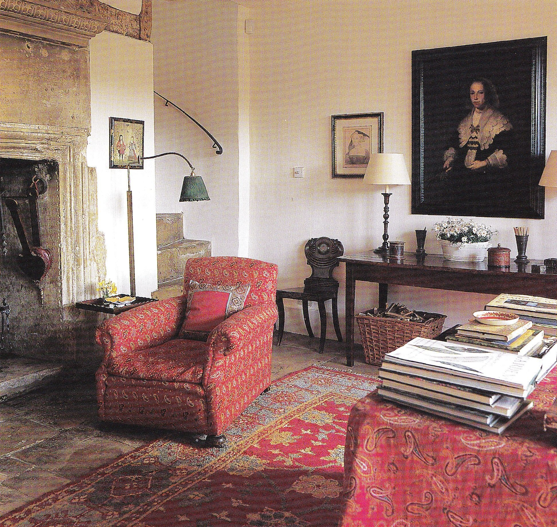Pin By Bernard Toulgoat On Country Cottage Living-room