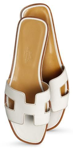 Footwear | Hermes shoes, Leather slippers, Womens fashion shoes