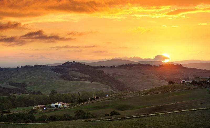 Живописная вселенная Тосканы и холмов Валь д'Орча | VeniVidi.ru