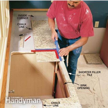 How To Install Granite Tile Countertops Kitchen Tile Granite Tile Countertops Tile Countertops Kitchen Tile Countertops