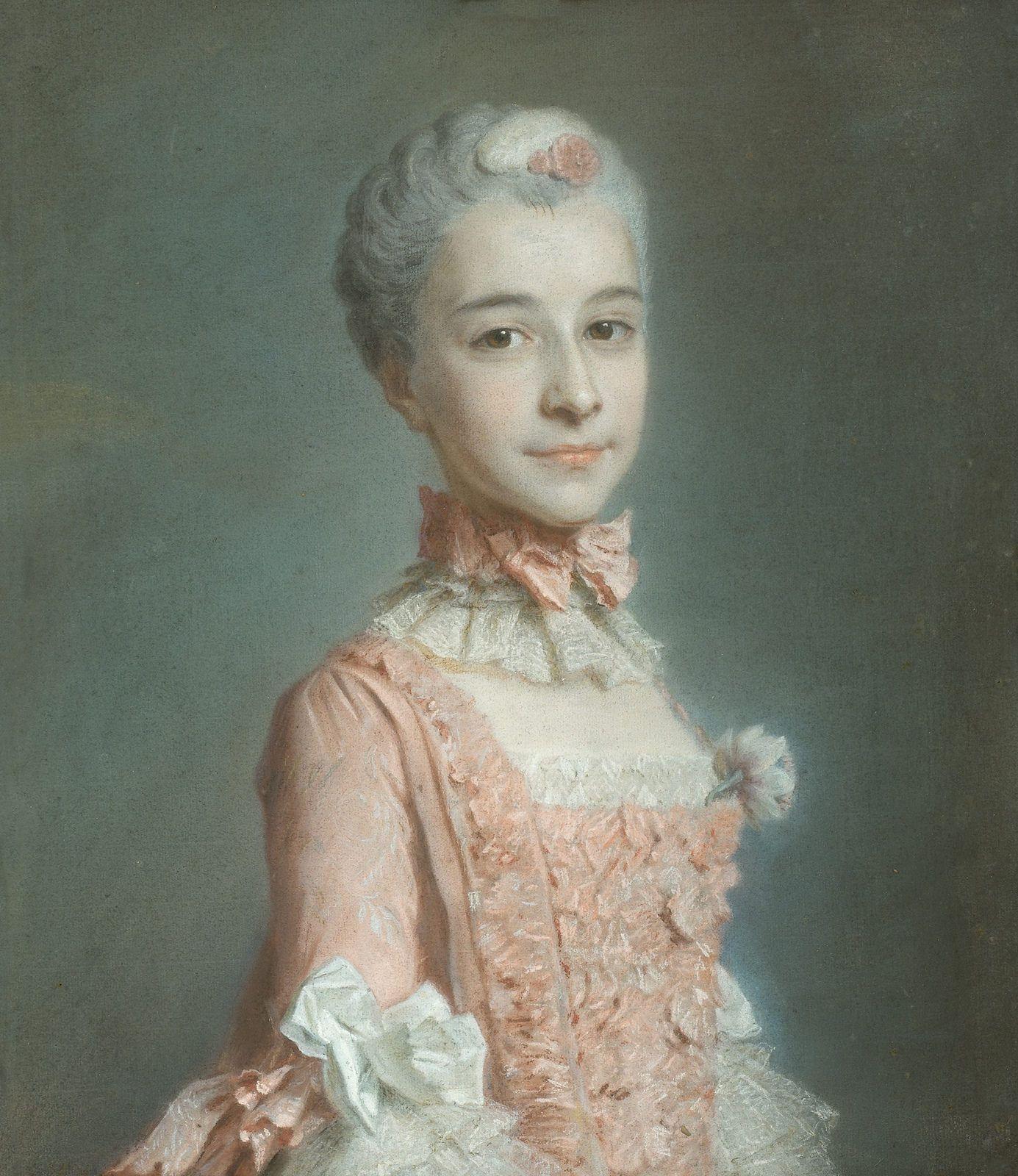 Billedresultat for 18th century portrait pink clothes