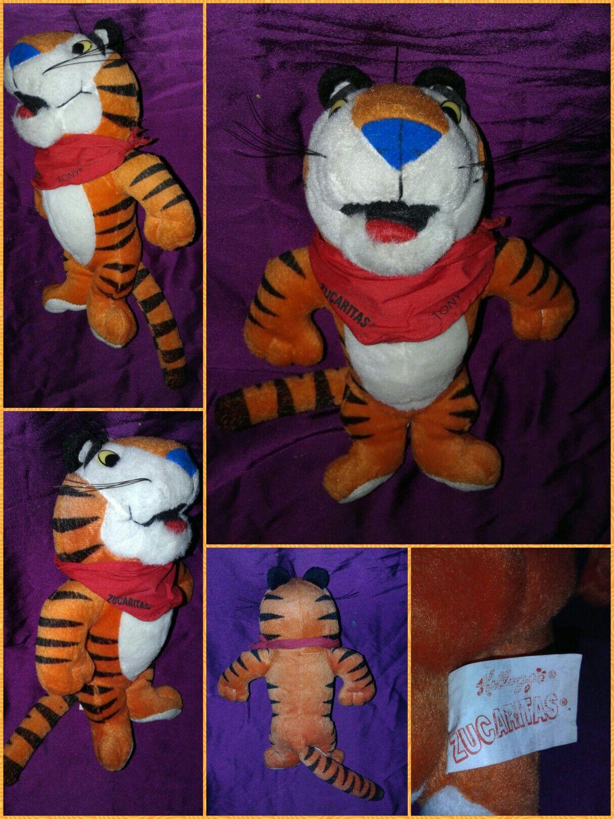 Peluche Tigre Tony Publicidad Zucaritas Kelloggs Recupera  # Muebles Bebotes