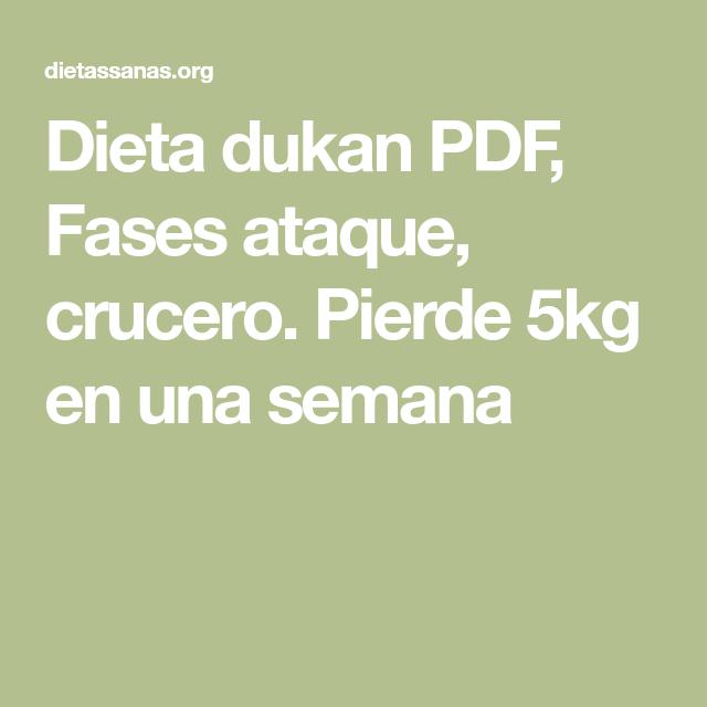 fases dieta dukan pdf