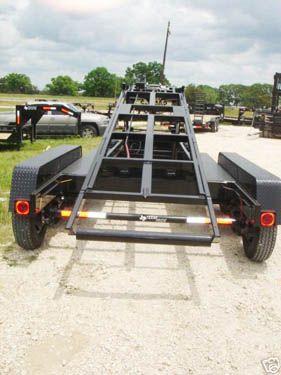 7x16 21k Gooseneck Triple Axle Roll Off Dump Trailer Dump Trailers Work Trailer Trailer