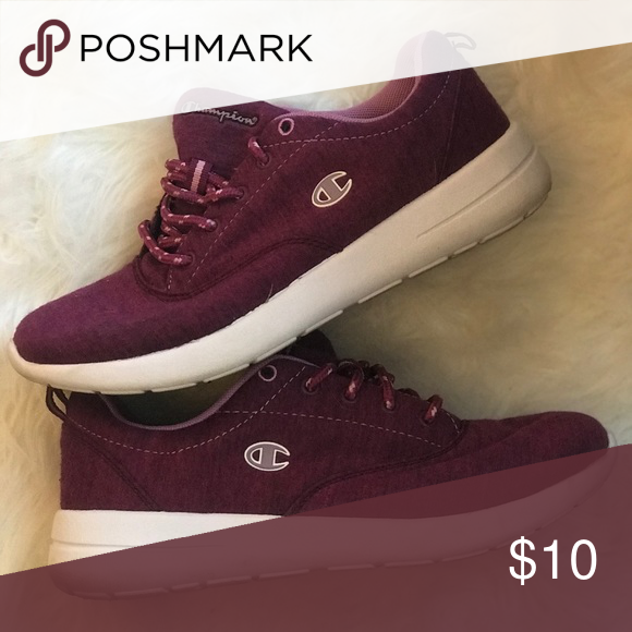 1e6fac7154d Champion sport comfort shoe Super comfy with memory foam sole. Color is a  purple maroon. Only worn a handful of times. Champion Shoes Sneakers