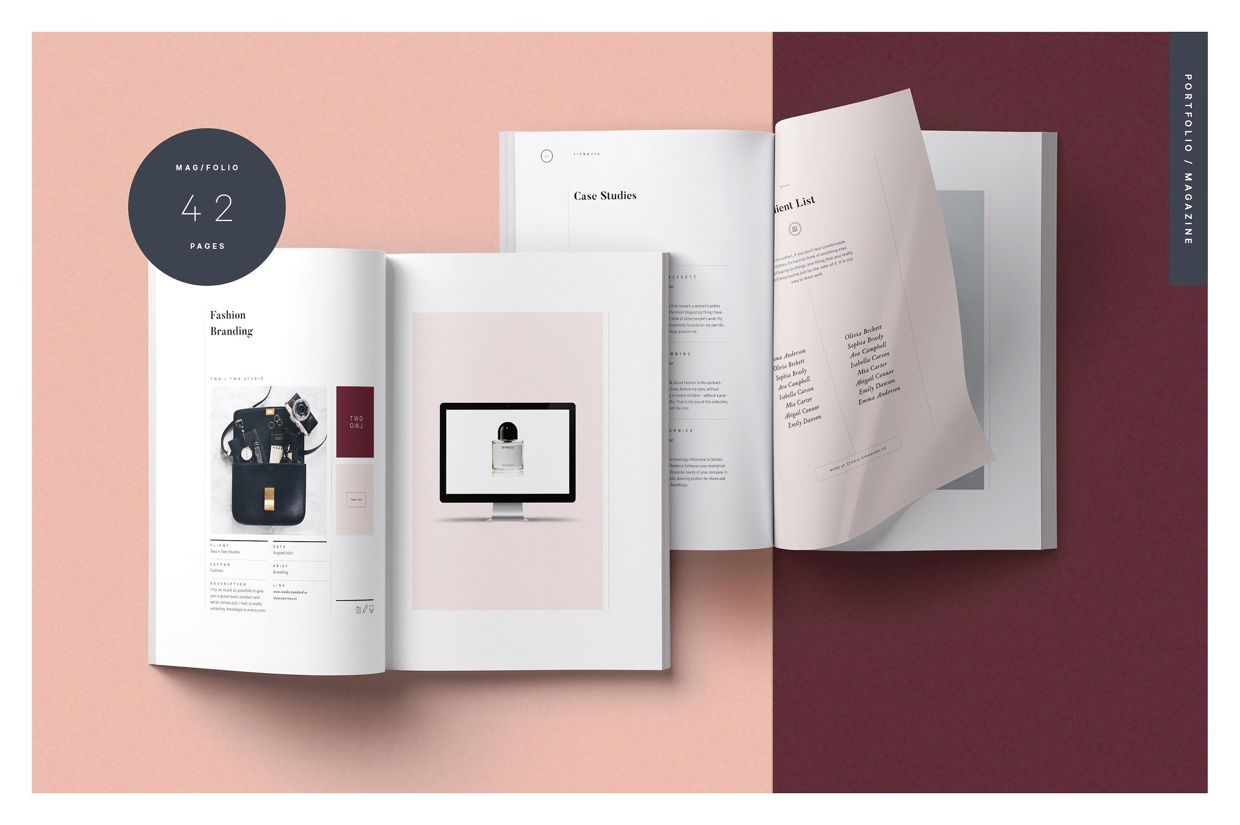 Fitzrovia Brand Pack Designingidealstandardpackage