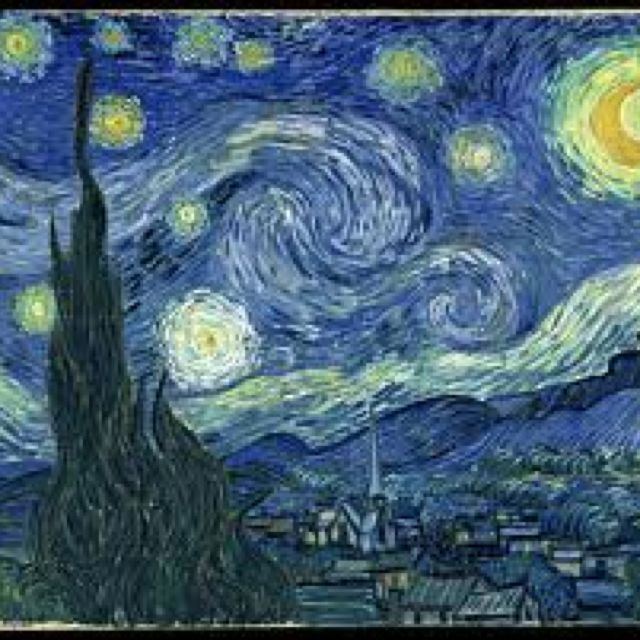 Van Gogh Museum, Amsterdam, Holland~ Starry Night is on display at the Van Gogh Museum.