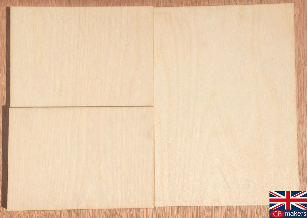 Details About Birch Plywood Ply Premium Sheet A5 A4 A3 4mm 6mm 9 12mm Wooden Wood Board Sheets Birch Plywood Premium Sheets Wood Board