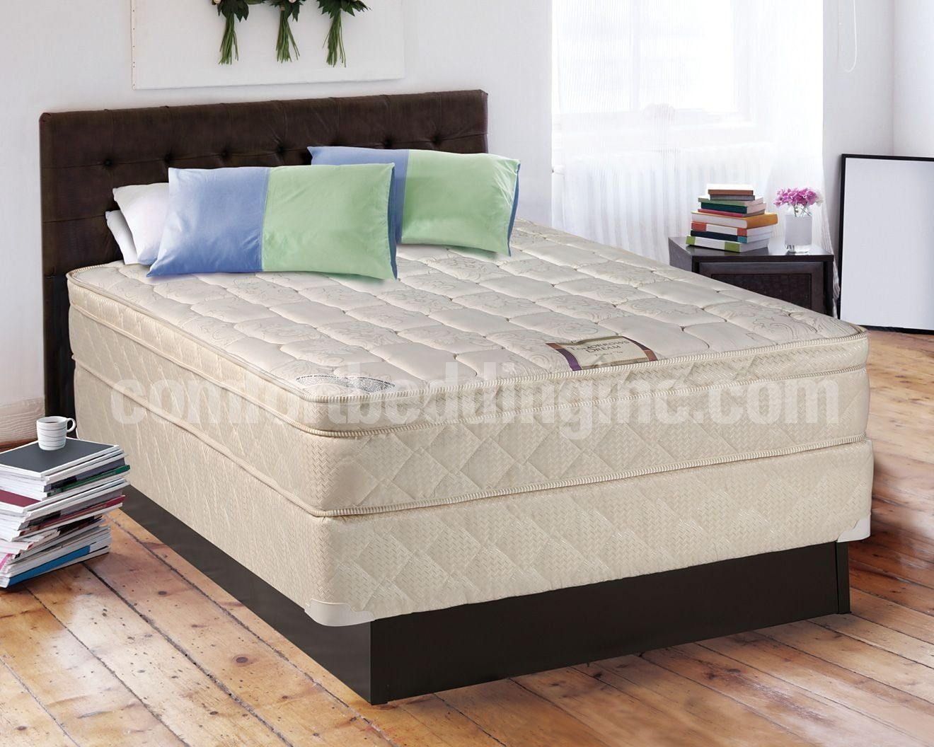 Tomorrow's Dream Inner Spring Eurotop Queen Size Mattress