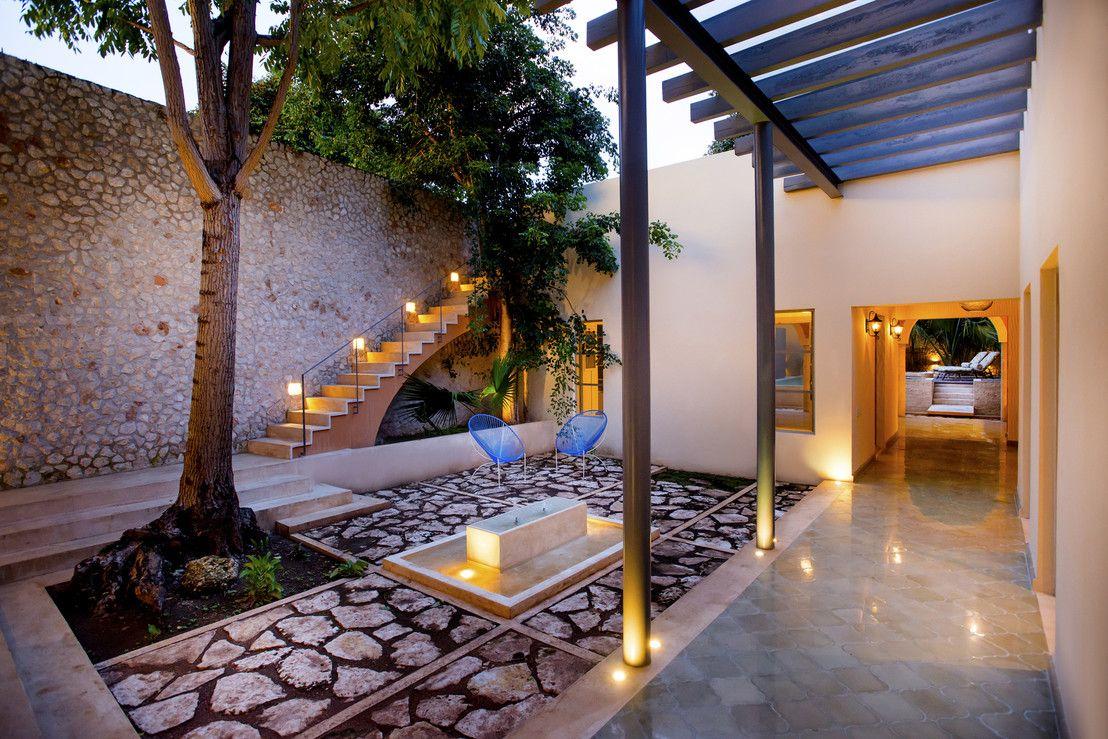 Mexicana y preciosa esta casa te va a enamorar casas for Casa moderna jardines