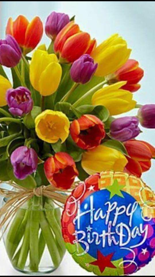 Pin De Libia En Cumpleaños Feliz Cumpleaños Flores Feliz