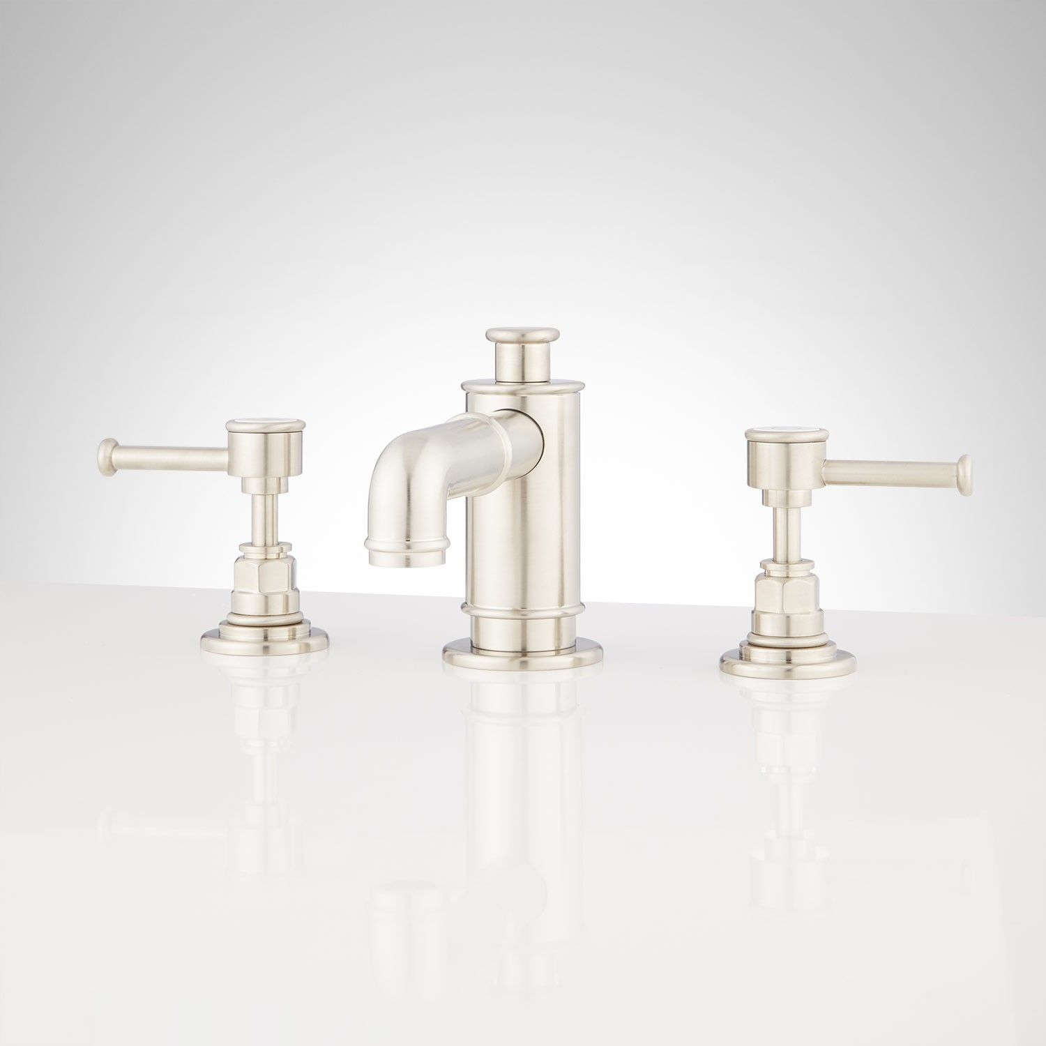 Waterson Widespread Bathroom Faucet With Lever Handles | 3 point ...