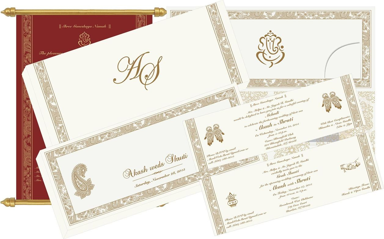 S-524, The maroon color scroll is made with exquisite matt effect ...