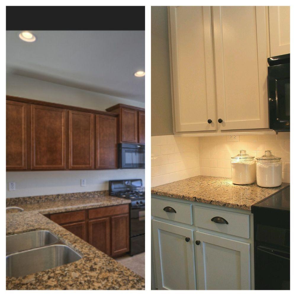 Hometalk | Brown granite countertops, Cottage kitchen ...