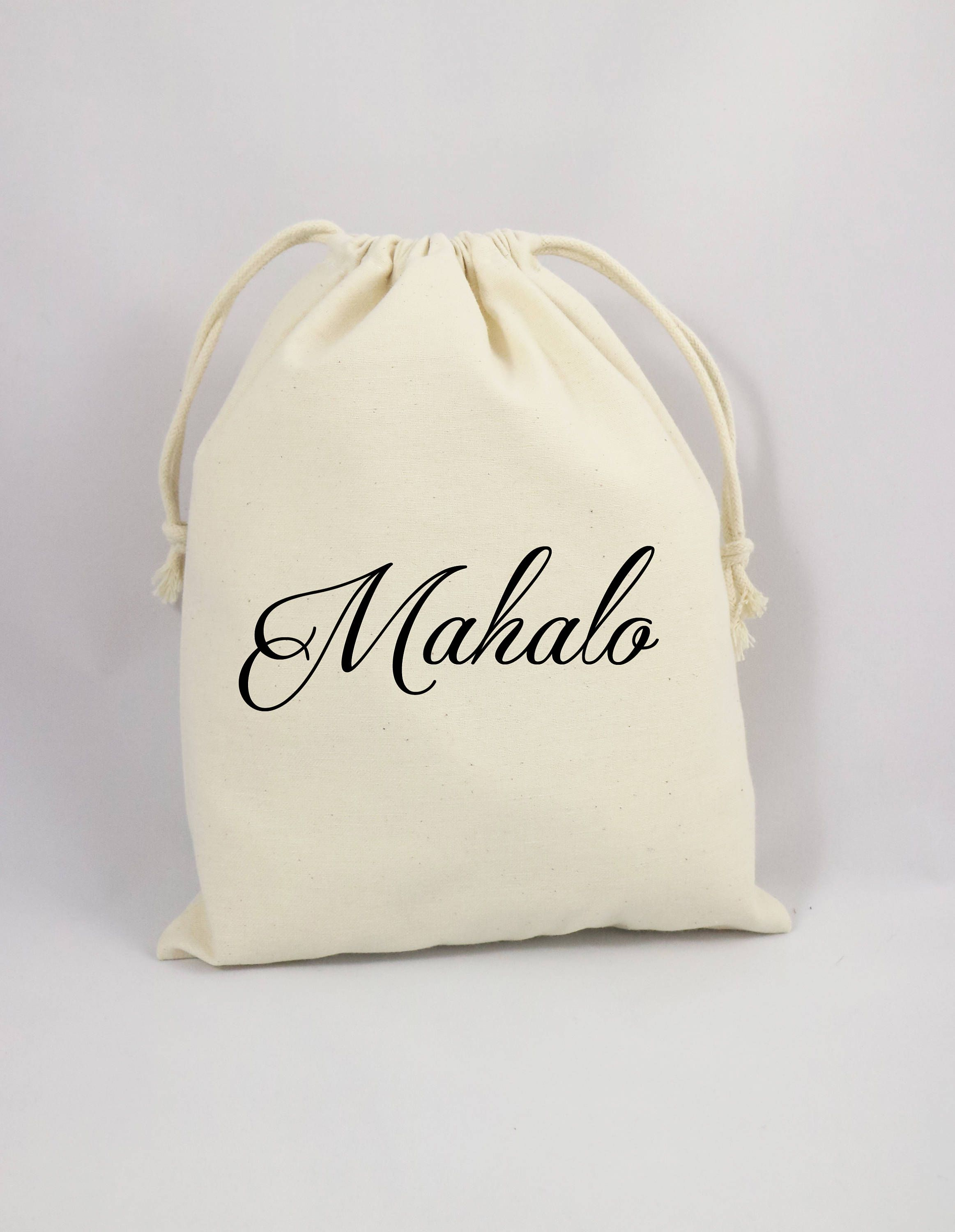 Wedding Thank You Bag, Welcome Party Bag,Canvas Party Bag, Thank You ...