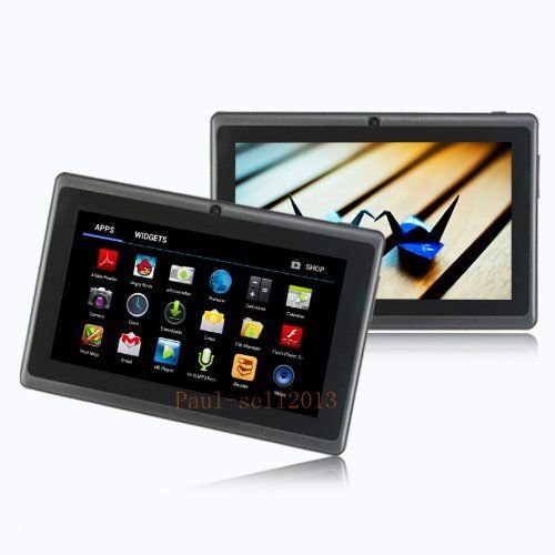 7 inch android tablet Google Android 4.0 4GB Allwinner A13