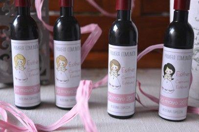 Botellas De Vino Para Regalar En Bautizos.Blog Decoracion De Botellas Decoracion Botellas De Vino Y