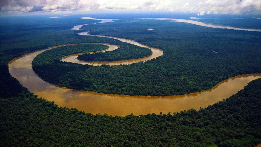 River Amazon In South America The Longest River In The World - 50 longest rivers in the world