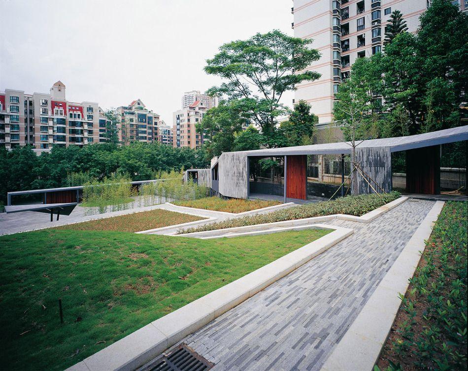 Researching Terracing as Urban Network ArchiData[건축 창고] :: 중국_Landscape | Jade Bamboo Culture Plaza / Urbanus
