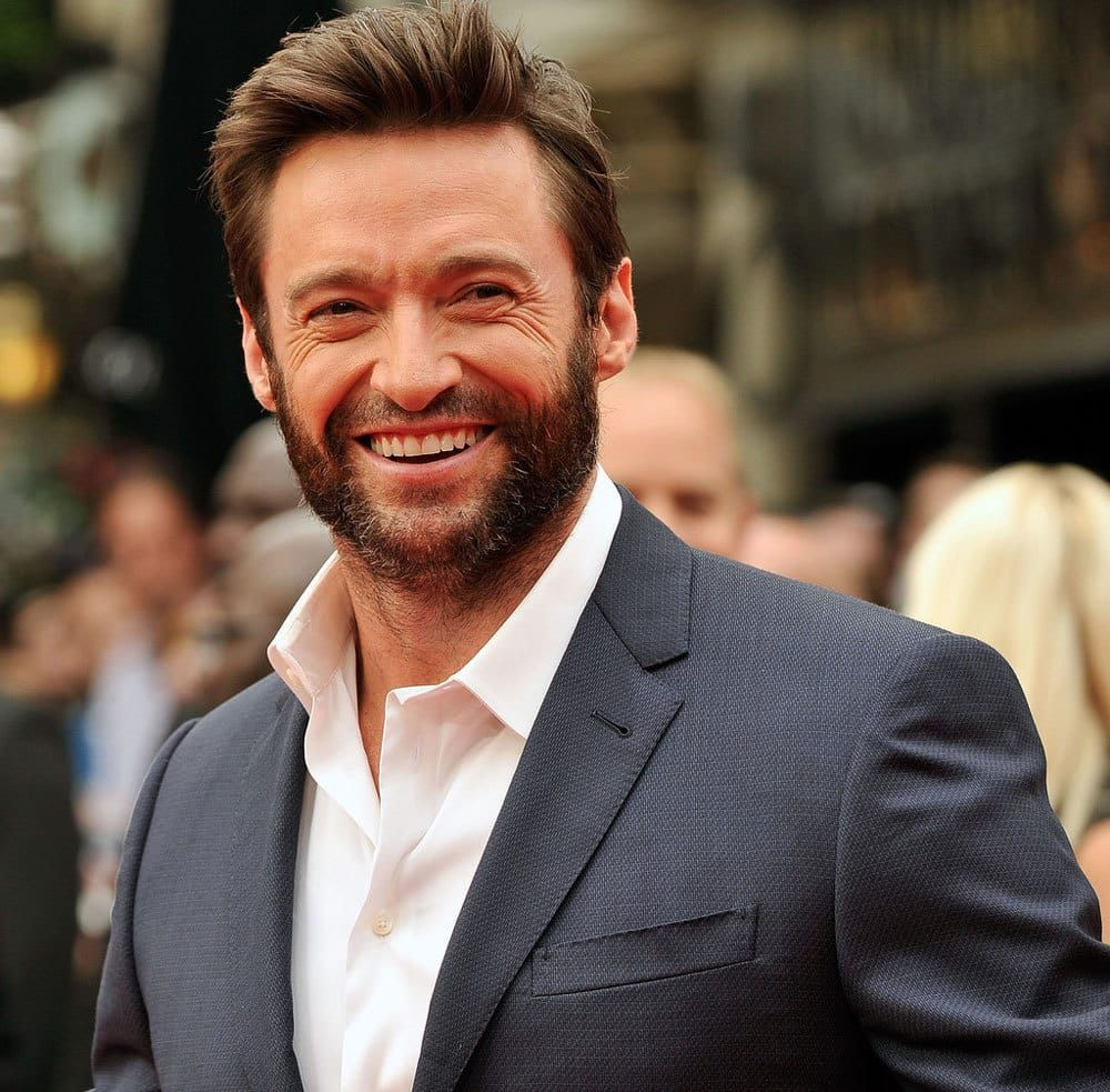 5 Handsome Wolverine Beard Styles To Turn Up Your Style Beard Styles Thin Hair Men Hugh Jackman