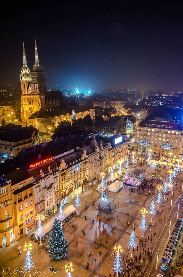Bozic U Zagrebu Croatia Holiday Zagreb Croatia Zagreb