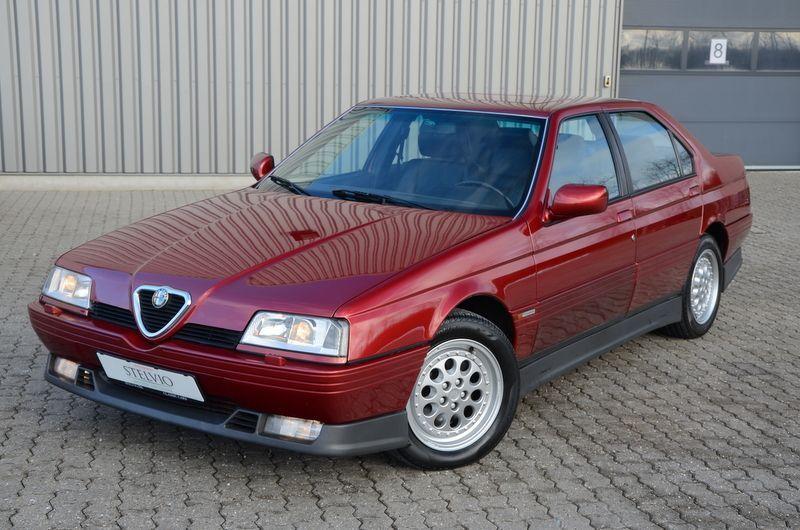 #pha.021591 Photo ALFA ROMEO 164 Q4 1993-1995 Car Auto