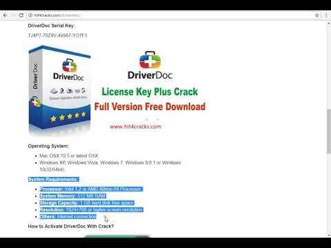driverdoc key generator