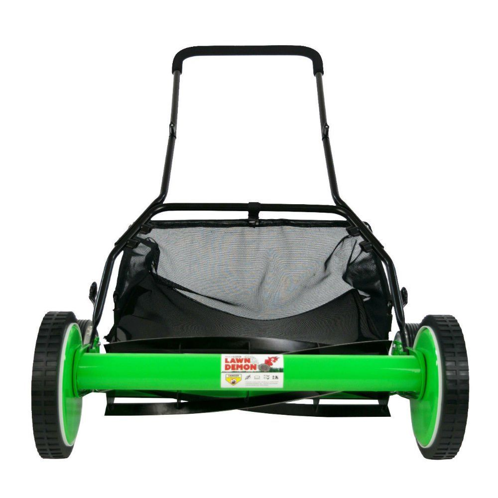 Ds1600ld 16inch 5blade Height Adjusting Push Reel Mower Lawn Demon A Lot More Information Might Be Located At The Photo Url Th Reel Mower Lawn Lawn Mower