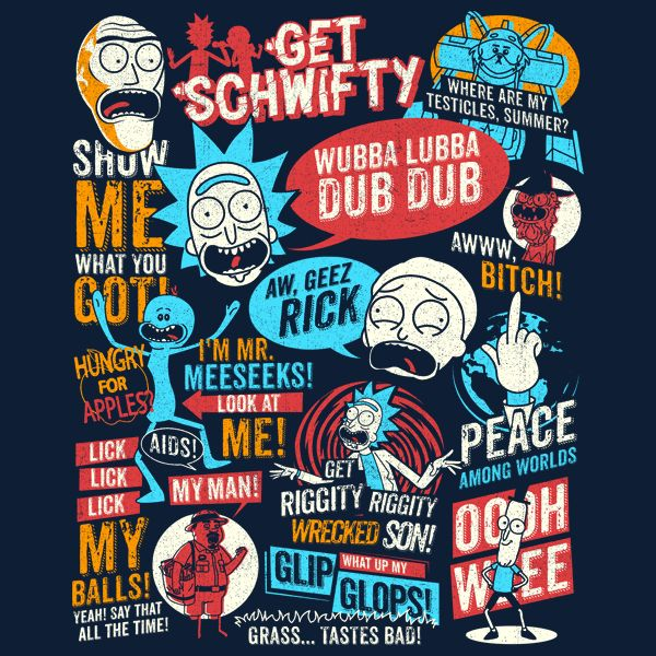 Wubba lubba dub dub by tom trager get free worldwide shipping