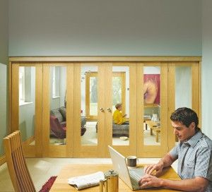 Folding door room dividers frames can be used with various styles of ...