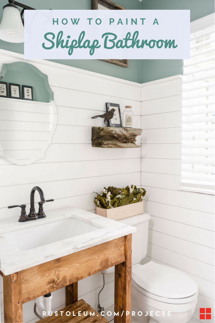 Beau This DIY Shiplap Is Perfect For Your Bathroom, Kitchen, Bedroom, Living  Room, Or Mudroom. Learn How To Paint Ship Lap With Zinsser PERMA WHITE  Interior ...