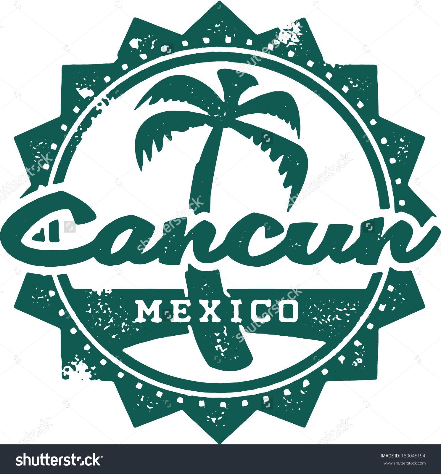 Cancun Beach Clip Art