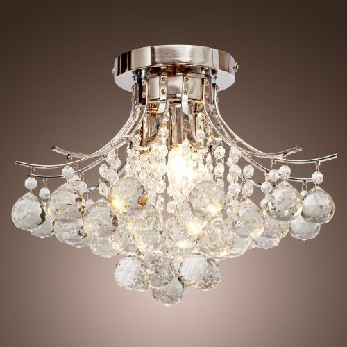 LightInTheBox Chandelier Modern Crystal 3 Lights, Modern Home ...